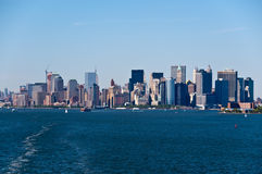 NYC Skyline Royalty Free Stock Images