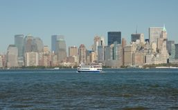 NYC skyline Stock Photos