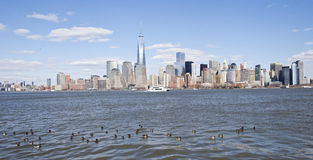 NYC-Skyline Stockfoto