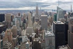 NYC-Skyline Lizenzfreies Stockfoto