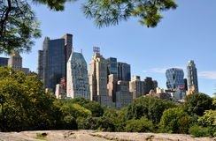 NYC: Skyline de Manhattan do Midtown Foto de Stock