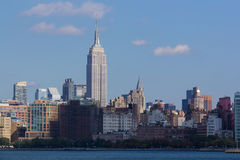 Nyc skyline empire state Stock Images