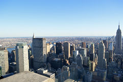 NYC skyline stock image