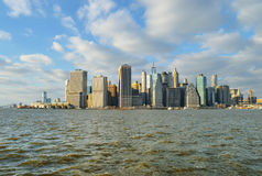 NYC skyline. Royalty Free Stock Photography