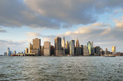 NYC skyline. Stock Image