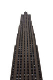 NYC Skyscraper. A skyscraper in NYC isolated on a white background Stock Photography