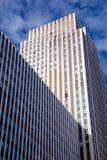 NYC-skyskrapafasad Royaltyfri Fotografi