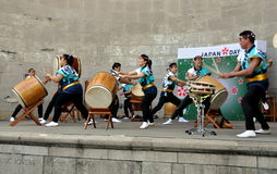 NYC: Soh Daiko at Japan Day Festival Stock Photo