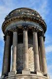 NYC: Soldaten u. Seemann-Monument im Flussufer-Park Lizenzfreie Stockfotografie