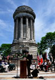 NYC: Soldiers' and Sailors' Monument in Riverside Park Royalty Free Stock Photo