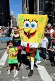 NYC: Sponge Bob at Brazil Day Festival Stock Image