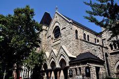 NYC: St. Ambrose Church in Harlem Stock Image
