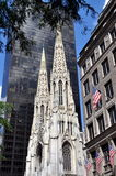 NYC: St. Patrick's Cathedral Stock Photos