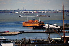 NYC: Staten Island Ferry Fotografia Stock