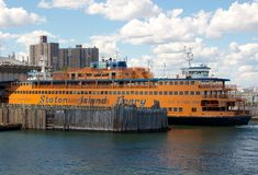 NYC Staten Island Ferry Stock Photo