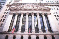 NYC Stock Exchange Royalty Free Stock Images