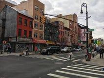 NYC-straat royalty-vrije stock afbeelding