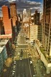 NYC-straten Royalty-vrije Stock Afbeelding