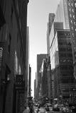 NYC-straten Stock Afbeeldingen