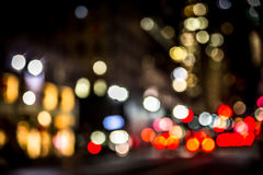 NYC Street Blur Royalty Free Stock Image