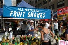 NYC: Street Festival Food Vendor Stock Photo