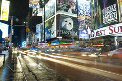 NYC Street Lights Royalty Free Stock Images