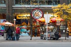 NYC Street Vendor Stock Photo