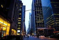 NYC street Royalty Free Stock Photo