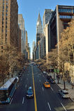 NYC streets. Royalty Free Stock Photos