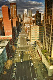 NYC streets. Royalty Free Stock Image