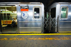 NYC SUBWAY Royalty Free Stock Images