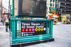 NYC Subway Royalty Free Stock Photography