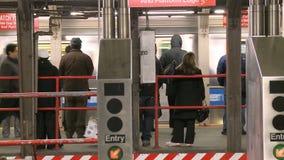 NYC Subway stock video