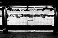 NYC Subway Station, Manhattan, NY Stock Image