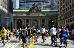NYC: Summer Streets on Park Avenue Stock Photography
