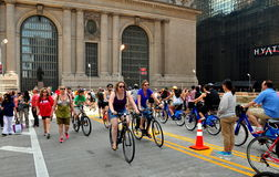 NYC: Summer Streets Saturday on Park Avenue Stock Images