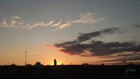 NYC sunset Stock Image