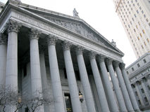 NYC Supreme Court Royalty Free Stock Images