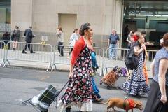 2015 NYC tana parada 72 Obraz Royalty Free