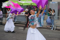 2015 NYC tana parady część 4 2 Zdjęcia Royalty Free