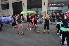 2015 NYC tana parady część 4 27 Zdjęcia Royalty Free
