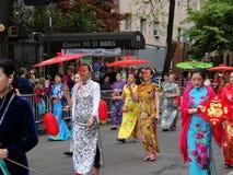 2016 NYC tana parady część 2 21 Zdjęcia Stock