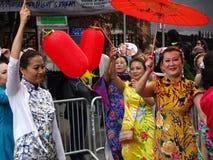 2016 NYC tana parady część 2 23 Zdjęcia Royalty Free