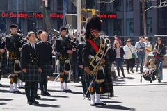 The 2015 NYC Tartan Day Parade 5 Royalty Free Stock Photography