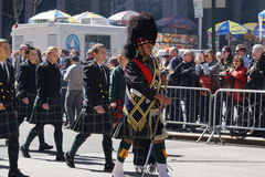 The 2015 NYC Tartan Day Parade 11 Royalty Free Stock Images