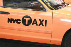 NYC Taxi Royalty Free Stock Photography