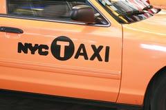nyc taxi Fotografia Royalty Free