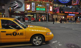 NYC taxi Stock Images