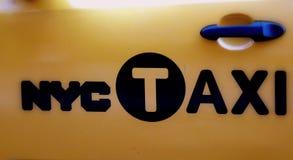 NYC Taxi Obraz Stock