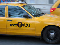 NYC taxi Stock Photos